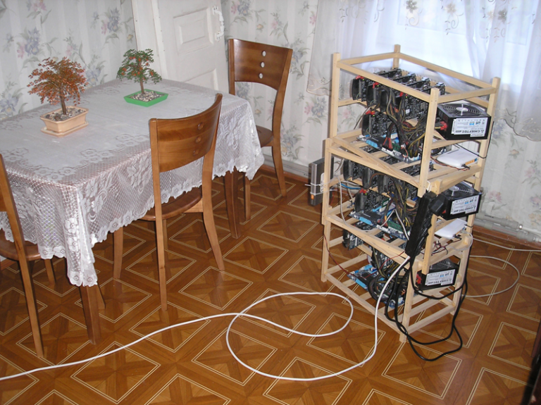 Ферма биткоинов в домашних условиях