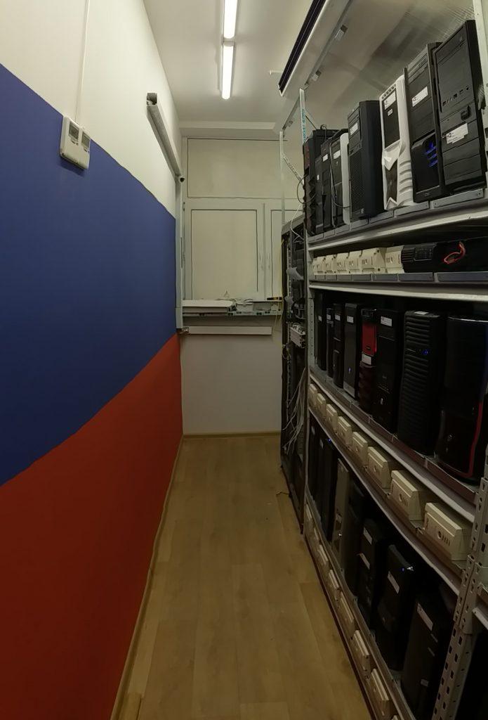 Дата центр Екатеринбург. Серверная tower