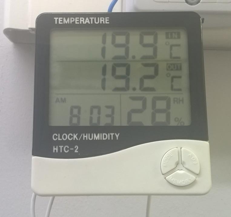 дата центр температура холодный