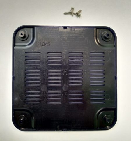 TV BOX MXQ S85 - нижняя крышка корпуса