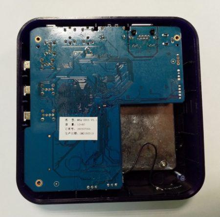 TV BOX MXQ S85 печатная плата